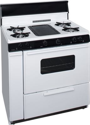 BLK5S9WP - Color: White with Black Trim